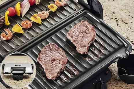 Qualtex UK - Healthy, fat reducing table top grill - Save 0%