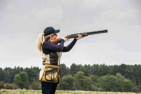 Whitewater Shooting Ground - Clay shooting experience for one person with 15 clays and a choice of activity - Save 48%