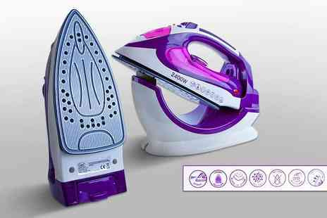 Groundlevel - Steam iron which works both cordless and corded, with a limited number available - Save 72%