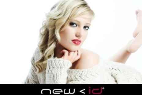 New ID Studios - Deluxe Makeover With Wash, Cut and Blowdry Make Up, Photo Shoot and Print - Save 60%