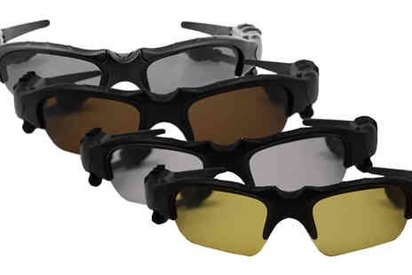 Black Sheep - Bluetooth Earphone Sunglasses in 4 Colours - Save 52%