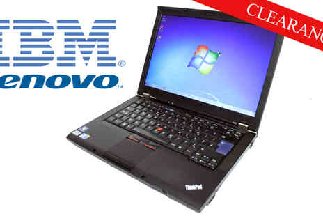 TECHYTEAM - IBM Lenovo T410 Laptop Intel Core 2 Duo M520 1.8Ghz 4GB - Save 45%