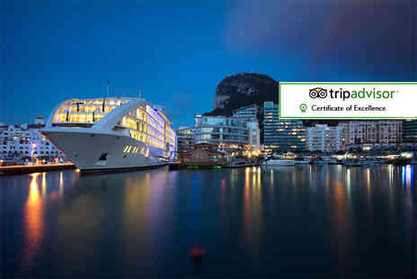 Bargain Late Holidays - Two or three night Sunborn Gibraltar yacht hotel break including flights and breakfast - Save 35%