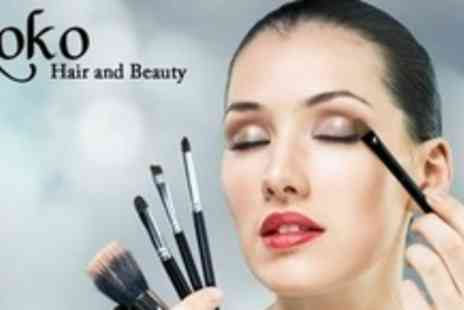 Koko Hair and Beauty - Professional 90 Minute Make Up Tutorial For Two - Save 63%