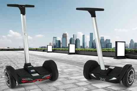Groupon Goods Global GmbH - Viron SegWheel Scooter 800W with Bluetooth Speaker With Free Delivery - Save 70%