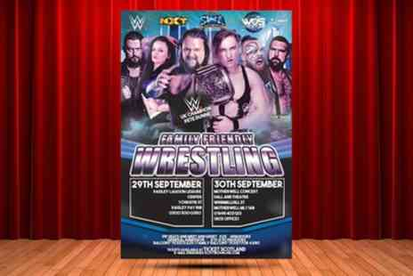 Scottish Wrestling Alliance - Two Locations Scottish Wrestling Alliance Admission on 29 to 30 September - Save 56%