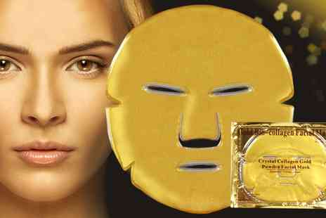 Groupon Goods Global GmbH - Collagen Eye or Face Masks - Save 84%