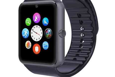 Mobi Trends - 15 in 1 i Touch Bluetooth smartwatch for iOS and Android choose black, rose gold, or silver - Save 79%