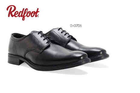 Shoeprimo - Pair of mens smart shoes choose a Gibson or Oxford pair - Save 86%