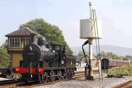 Embsay and Bolton Abbey Steam Railway - Return steam railway journey for two people and tickets to the National Festival Circus - Save 59%