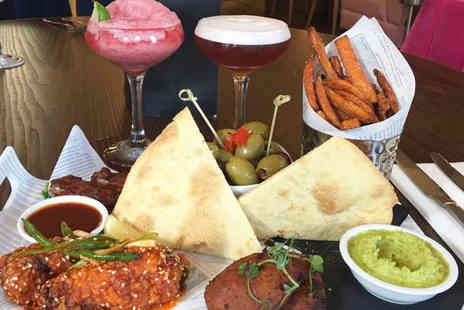 Sugar Hut - Sharing platter and cocktail each for two - Save 50%