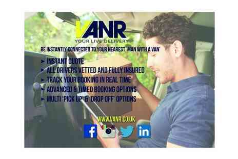 VANR - Van delivery service voucher - Save 80%