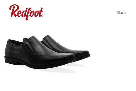 Shoeprimo - Pair of mens leather slip on shoes - Save 82%
