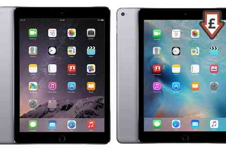 GoldBoxDeals - Refurbished Apple iPad Air 1 or 2 16 To 64GB Wi-Fi Space Grey With Free Delivery - Save 0%
