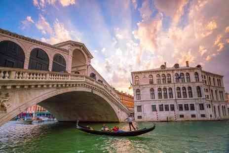 Cheap Cost Holidays - Two, three or four night 4 Star Venice break including flights and a gondola ride - Save 38%