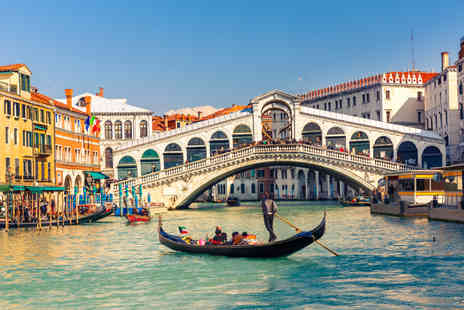 Tour Center - Four night Rome and Venice trip including flights and trains - Save 41%