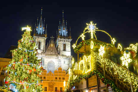 Bargain Late Holidays - Two night Christmas market break and flights choose from Paris, Amsterdam, Prague and more - Save 26%