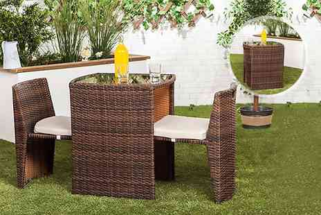 Changing Sofas - Two seater rattan patio set - Save 79%