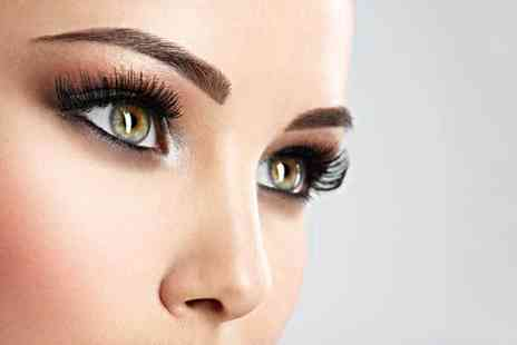 Belle Derma Aesthetics - Lash enhancement semi permanent makeup treatment - Save 75%