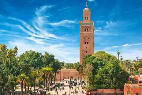 Bargain Late Holidays - Two or three night all inclusive Marrakech break with flights - Save 29%