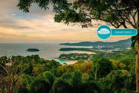 Tour Center - Seven or 14 night Phuket, Thailand break with Superior Pool View room, breakfast and flights - Save 34%