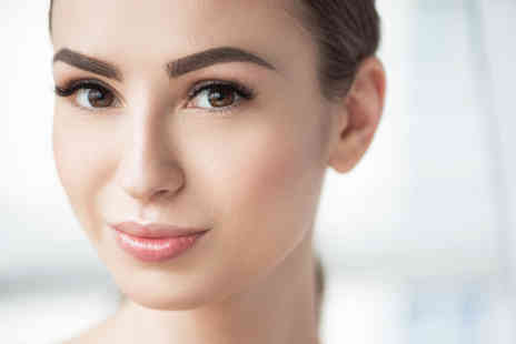 Semibeaut - One session of semi permanent make up on top or bottom eyeliner or both - Save 51%