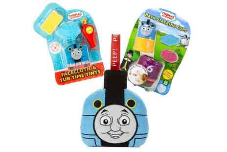 Groupon Goods Global GmbH - Three Pack Thomas and Friends Bathtime Bundle - Save 0%