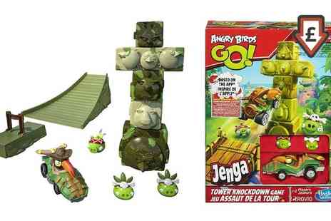 Groupon Goods Global GmbH - Angry Birds Jenga Tower Knockdown Game - Save 67%