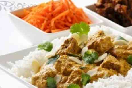 The Jasmine Restaurant - Two Course Indian Meal For Four With Side Dish and Glass of Wine Each - Save 68%