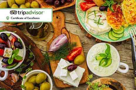 Bouzouki By Night Restaurant - Greek dining for two including 15 mezze dishes and dessert - Save 61%