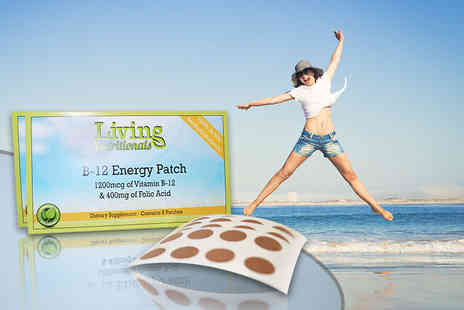 Seatedtoad - Two, four or six month supply of B 12 energy patches - Save 83%