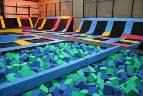 Mister Twisters - One hour trampolining session with 30 minutes of soft play for one or two - Save 0%