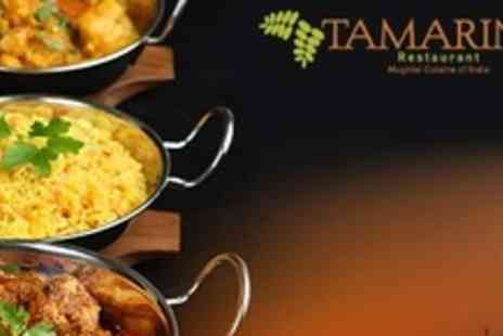 Tamarind Restaurant - Three Course Indian Meal For Two - Save 59%