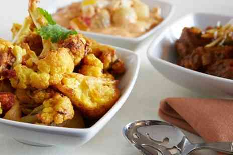 Coppers Spice Cafe & Wine Bar - Three Course Indian Meal with Sides and Prosecco for Two or Four - Save 49%