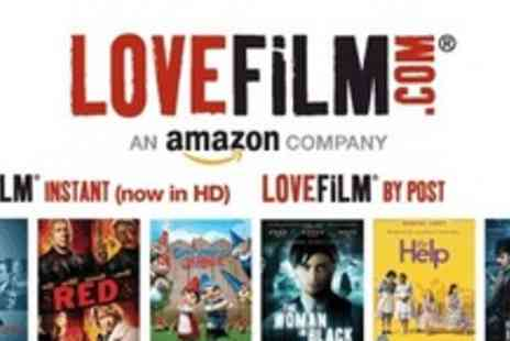 LOVEFiLM - Unlimited Instant Streaming And By Post For Three Months - Save 62%