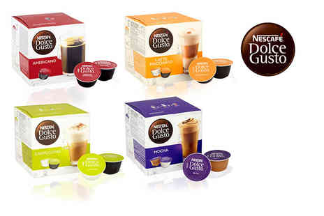 Euro Coffee Pods - 48 assorted Nescafe pods - Save 69%