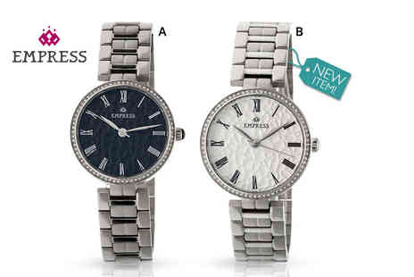 Empress Watches - Ladies luxury Empress Catherine watch Plus complimentary delivery - Save 88%
