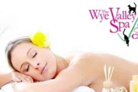Wye Valley Spa - Spa Day For One Including Facial, Head Massage,  Shellac Manicure, and Cocktail - Save 57%