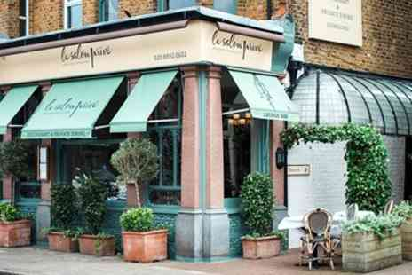 Brula Restaurant - Three course French lunch for 2 in St Margarets - Save 38%