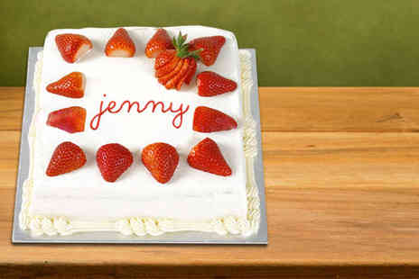 Buckleys Bakery - Personalised nine inch cake - Save 82%