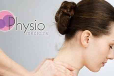 Physio Medicine - Spinal and Joint Assessment With Treatment or One Hour Sports Massage - Save 78%