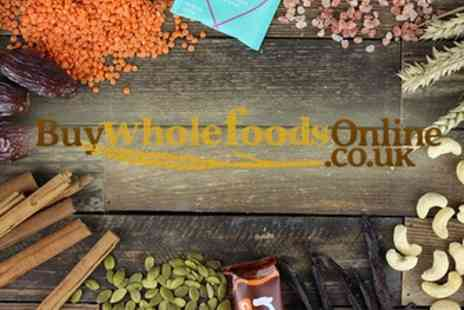 Buy Wholefoods Online - Up to £30 Toward Whole Foods - Save 50%