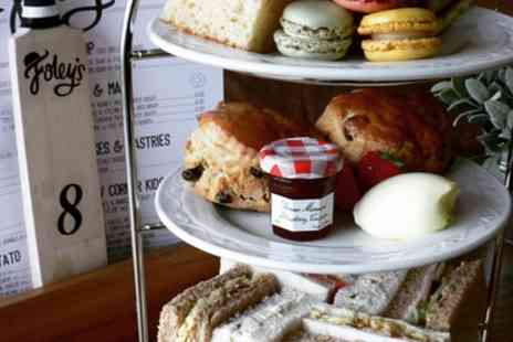 Foleys Cafe - Traditional Afternoon Tea  with Optional Prosecco for Two or Four - Save 50%