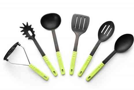 Groupon Goods Global GmbH - 6 Piece Kitchen Cooking Utensils Set - Save 0%