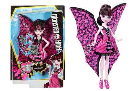 Groupon Goods Global GmbH - Monster High Ghoul to Bat Draculaura Doll - Save 52%