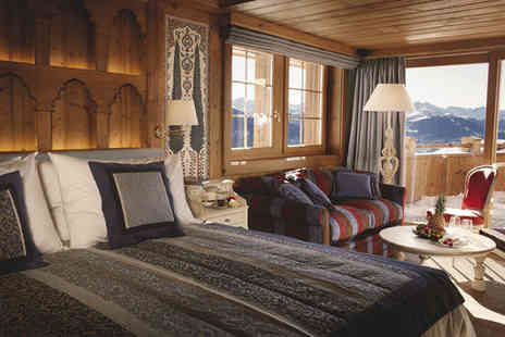 LeCrans Hotel & Spa - Five Star Stunning Getaway in Heart of Swiss Alps - Save 30%