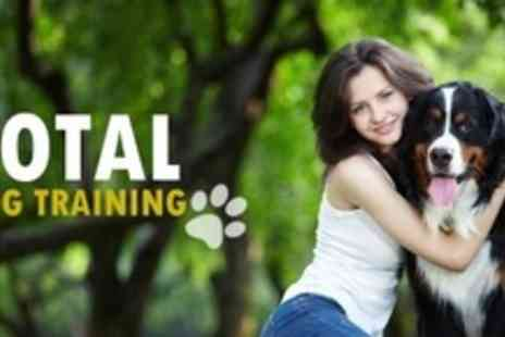 Total Dog Training - Dog Training at Home With Consultation For One - Save 60%