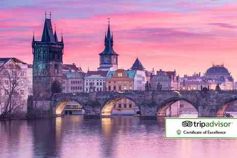 Super Escapes Travel - Two night 4 Star Prague stay including breakfast and flights - Save 38%