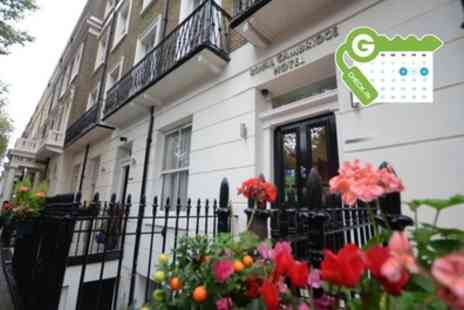 The Royal Cambridge Hotel - Double Room for Two with Breakfast - Save 25%