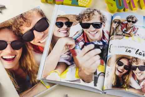 Colorland - One or Two Personalised A4 Hardcover Photobooks with Up to 60 Pages - Save 80%